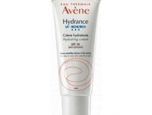 Avene Hydrance Riche SPF30 Hydratant / Ενυδατική Κρέμα Προσώπου Πλούσιας Υφής για ξηρό και πολύ ξηρό ευαίσθητο δέρμα, 40ml