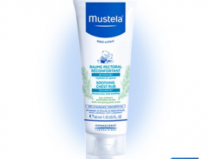 Mustela Soothing Chest Rub, 40 ml.Κρέμα Εντριβής Στήθους
