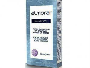 Almora Plus Normobowell για την Αντιμετώπιση των Συμπτωμάτων του Συνδρόμου Ευερέθιστου Εντέρου 30tabs