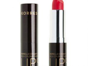 Korres Morello Creamy Lipstick – 44 Luminous Coral – 3,5g.