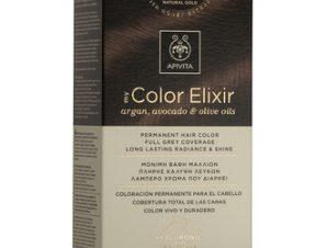 Apivita My Color Elixir Μόνιμη Βαφή Μαλλιών / N5,03 Καστανό Ανοιχτό Φυσικό Μελί