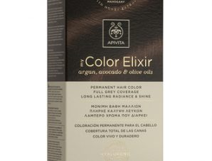 Apivita My Color Elixir Μόνιμη Βαφή Μαλλιών / N5,35 Καστανό Ανοιχτό Μελί Μαονί