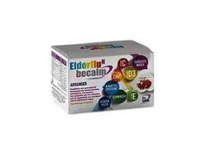 Becalm Elderflu N Anvanced Συμπλήρωμα Διατροφής για την Καταπολέμηση των Συμπτωμάτων της Γρίπης & του Κρυολογήματος, 7 Φακελάκια με γεύση Ρόδι
