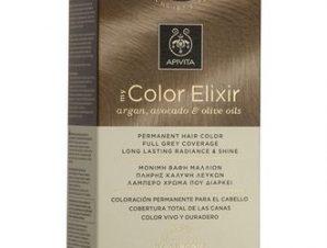 Apivita My Color Elixir Μόνιμη Βαφή Μαλλιών / No 9.87 Ξανθό Πολύ Ανοιχτό Περλέ Μπεζ