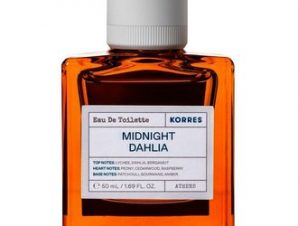 Korres Eau De Toilette Midnight Dahlia 50ml /