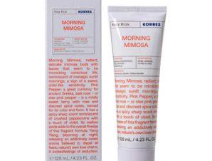 Korres Morning Mimosa Body Milk / 125ml