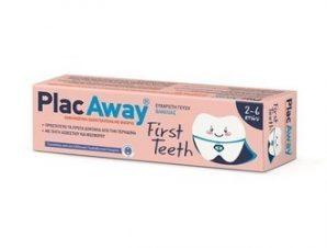 Plac Away First Teeth Οδοντόκρεμα Vanilla 50ml