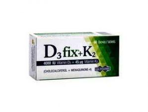 Uni-Pharma D3 Fix 4000iu + K2 45mg 60 tabs