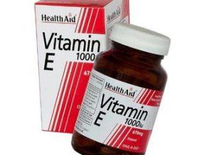 Health Aid Vitamin E 1000 i.u. 30 caps