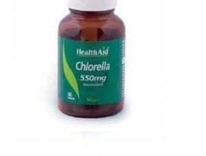 Health Aid Chlorella 550mg 60 tabs