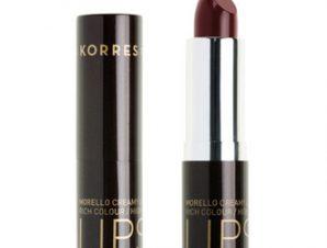 Korres Morello Creamy Lipstick – 59 Burgundy Red – 3,5g.