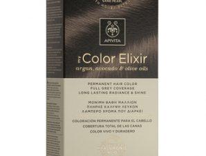 Apivita My Color Elixir Μόνιμη Βαφή Μαλλιών / N6,78 Ξανθό Σκούρο Μπεζ Περλέ