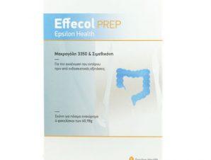 Effecol Prep / Για την Εκκένωση του Εντέρου πριν από ενδοσκοπικές εξετάσεις / 4 φακελίσκοι των 60,98gr