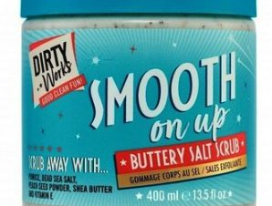 Dirty Works / Smooth on Up Buttery Salt Scrub 400ml /