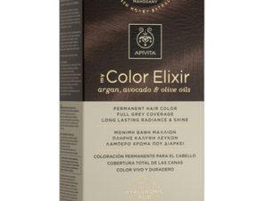 Apivita My Color Elixir Μόνιμη Βαφή Μαλλιών / No 7.35 Ξανθό Μελί Μαόνι
