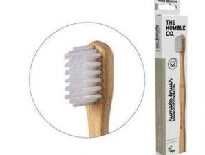 The Humble Co-Οδοντόβουρτσα μπαμπού-Sensitive (white)