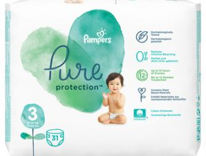 Pampers Pure Care Protection / Ν:3 ( 31τμχ) / 6-10kg
