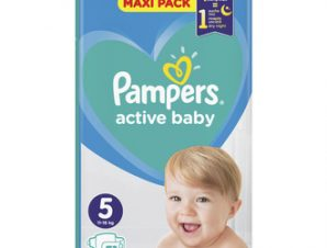 Pampers Βρεφικές Πάνες Active Baby Dry Maxi Pack No5 (11-16Kg) 51 τμχ