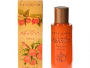 L'Erbolario Accordo Arancio Acqua di Profumo 50 ml – Αρωματικές νότες από: Μανταρίνι Νεράντζι Δαμάσκηνο και Βανίλια