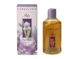 L'Erbolario Iris Αφρόλουτρο 250 ml.- Ένα μοναδικό άρωμα πούδρας με αρωματικές νότες: Ίριδα, Ylang Ylang, Tobacco, Βανίλια