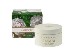 L'Erbolario Camelia Perfumed Body Cream – 200ml Κρέμα Σώματος με Αρωματικές Νότες από: Καμέλια, Ελέμιο Κουμαριά, Tonka, Ambra (Κεχριμπάρι)