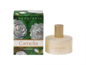 L'Erbolario Camelia Acqua di Profumo 50ml με Αρωματικές Νότες από: Καμέλια, Ελέμιο Κουμαριά, Tonka, Ambra (Κεχριμπάρι)