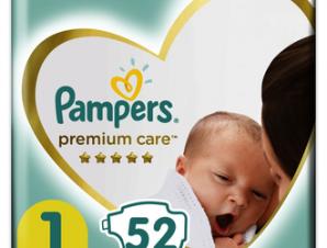 Pampers Premium Care Newborn – Βρεφικές Πάνες Ν: 1 – 52τμχ (2-5kg)