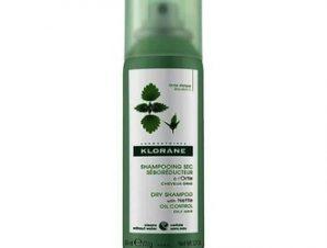 Klorane Ortie Dry Shampoo με Τσουκνίδα για Λιπαρά Μαλλιά – 50ml