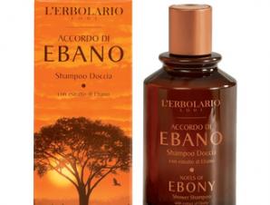 L'erbolario Accordo di Ebano / Shower Shampoo -250ml με Αρωματικές Νότες : Γκρέιπ φρουτ, Μανταρίνι, Έβενο, Μαύρο Πιπέρι, Έλεμι Λάβδανο.