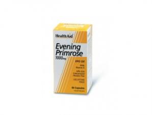 Health Aid Evening Primrose Oil 1000mg + Vitamin E. 30vcaps