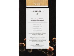 Korres Argan Oil Ageless Colorant 9.73 Χρυσό Καστανό / 50ml