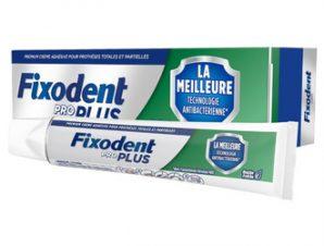 Fixodent Pro Plus / Στερεωτική Κρέμα για Τεχνητή Οδοντοστοιχία με Γεύση Μέντας 40gr