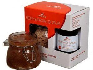 Anaplasis Body & Facial Scrub 250gr, Μείγμα Ελαίων 70 ml Απολέπιση για Πρόσωπο και Σώμα