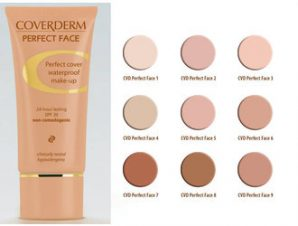 Coverderm Perfect Face, Perfect Cover Waterproof make-up spf20. N: 3, 30ml