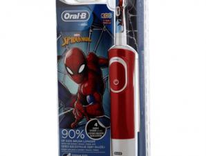 Oral-B Kids Ηλεκτρική Οδοντόβουρτσα Spiderman για παιδιά 3+