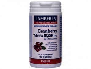 Lamberts – Cranberry 60tabs