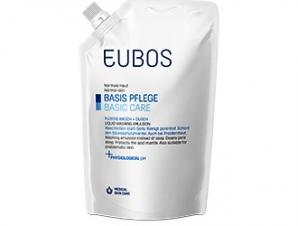 Eubos Liquid Blue Refill – Υγρό Καθαρισμού Προσώπου και Σώματος – Χωρίς άρωμα 400ml