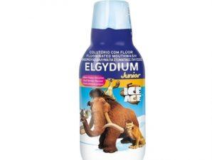 Elgydium Junior Ice Age Mouthwash 500ml Καθημερινό φθοριούχο Στοματικό Διάλυμα για παιδιά με γεύση κόκκινων μούρων