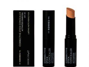 Korres Corrective Stick Concealer SPF30 -ACS2 με Ενεργό Άνθρακα για ατέλειες & Ματ Αποτέλεσμα / 3.5g