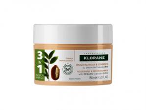Klorane Μάσκα θρέψης & επανόρθωσης 3 σε 1 με Cupuacu για ξηρά μαλλιά – 200ml