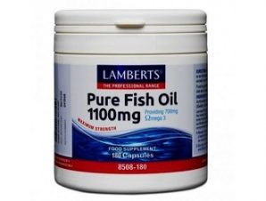 Lamberts Fish Oil 1100 mg,180 caps