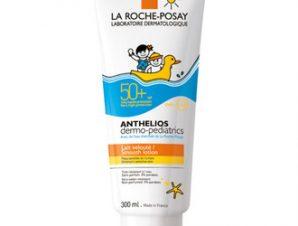 La Roche-Posay Anthelios Dermo-Pediatrics Lait Wet Gel Lotion spf50, 250ml. Εξειδικευμένη αντιηλιακή προστασία για την ευαίσθητη παιδική επιδερμίδα.