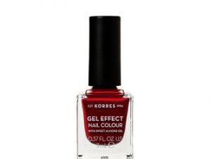 Korres Gel effect nail Colour – 52 Eternity Red Rose – 11ml