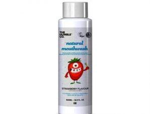 The Humble Co- Φυσικό Παιδικό Στοματικό διάλυμα με γεύση Φράουλα – 500ml