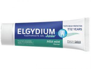 Elgydium Οδοντόπαστα Gel Junior 7/12 Ετών με Ήπια Γεύση Μέντας 50ml
