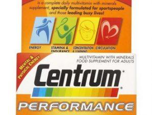 Centrum Performance A to Zinc 30 δισκία,Συμπλήρωμα Διατροφής με Βιταμίνες,Μέταλλα.Ginseng και Ginkgo Biloba