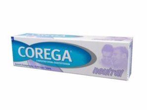 Corega Neutral 40gr Στερεωτική κρέμα οδοντοστοιχιών