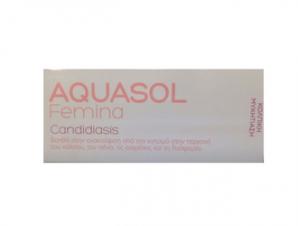 Aquasol Femina Candidiasis Cream 30ml – Ανακούφιση Από Τον Κνησμό Στον Κόλπο