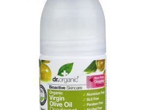 Dr.Organic Olive Oil Deodorant 50ml,Αποσμητικό με Βιολογικό Λάδι Ελιάς