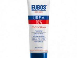 Eubos Urea 10% Foot Cream 100ml,Κρέμα Ποδιών για ξηρό δέρμα με ραγάδες